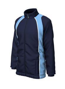 Navy/Sky Showerproof Coat - For Dinnington First School