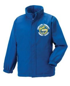 Royal Reversible Jacket - Embroidered with Burradon Community Primary School logo