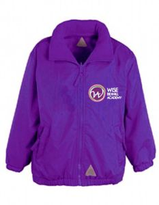 Reversible School Jacket - Embroidered with Bexhill Academy Logo