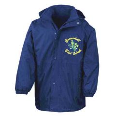 Royal Result Stormproof Coat - Embroidered with Broomhill First School logo
