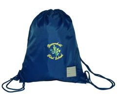 Royal PE Bag - Embroidered with Broomhill First School logo