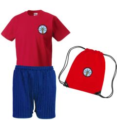 PE KIT - Embroidered with Bowburn Primary School Logo