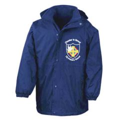 Royal Stormproof Coat - Embroidered with Chester Le Street Primary School Logo