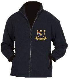 Navy Fleece - Embroidered with Farringdon Academy Logo
