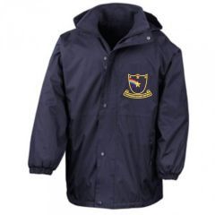 Navy Result Stormproof Coat - Embroidered with Farringdon Primary School logo