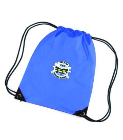 Royal PE Bag - Embroidered with Felton CofE Primary School logo