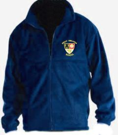 Royal Blue Fleece - Embroidered with Great Smeaton Academy Primary School Logo