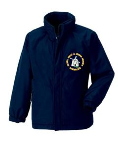 Navy Reversible School Jacket - Embroidered with Fulwell Junior School Logo
