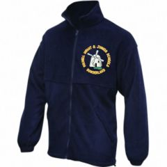 Navy Fleece - Embroidered with Fulwell Junior School Logo