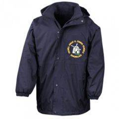 Navy Stormproof Coat - Embroidered with Fulwell Junior School Logo
