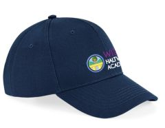 (Optional) Navy Blue Cap - Embroidered with Haltwhistle Primary Academy Logo