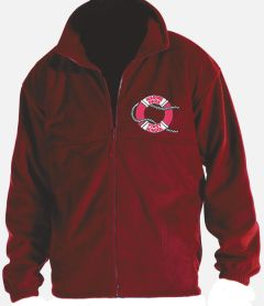 Red Polar Fleece - Embroidered with Marine Park First School Logo