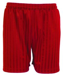 Red Shorts - Plain (No Logo)