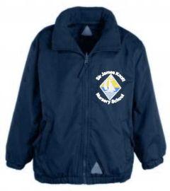 Navy Lightweight Jacket - Embroidered with Sir James Knott Nursery School logo