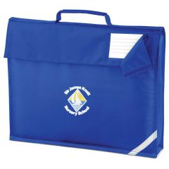 Royal Bookbag - Printed with Sir James Knott Nursery School logo