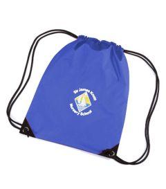 Royal PE Bag - Embroidered with Sir James Knott Nursery School logo