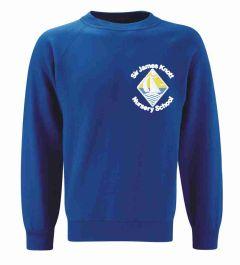 Royal Sweatshirt - Embroidered with Sir James Knott Nursery School logo