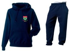 PE Tracksuit (Hoodie & Joggers) - Embroidered with St Oswalds Primary School (Hebburn) logo