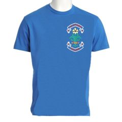 Sky PE T-shirt - Embroidered with St. Anne's C.E.PS (Bishop Auckland) Logo