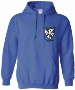 Royal Hoodie - Embroidered with St Catherine's RC Primary School logo
