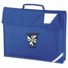 Royal Bookbag - Printed with St Catherine's RC Primary School logo