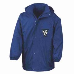 Royal Result Stormproof Coat - Embroidered with St Catherine's RC Primary School logo