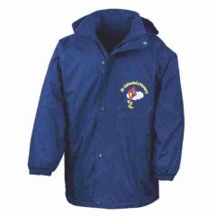 Royal Result Stormproof Coat - Embroidered with St Catherine's Nursery logo