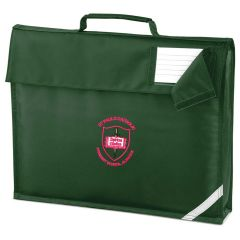 Bottle Book Bag - Embroidered with St Paul's Catholic Primary School Logo (Alnwick)