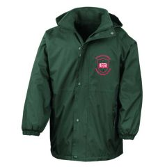 Bottle Waterproof Jacket - Embroidered with St Paul's Catholic Primary School Logo (Alnwick)