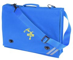 Royal Document Case - Embroidered with St Pius R.C. Primary School Logo