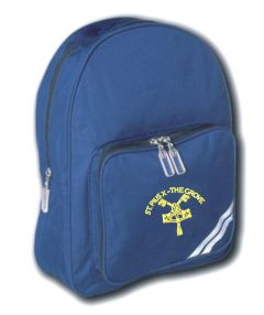 Royal Infant Back Pack - Embroidered with St Pius R.C. Primary School Logo