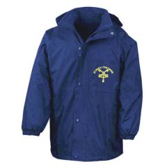 Royal Stormproof Coat - Embroidered with St Pius R.C. Primary School Logo