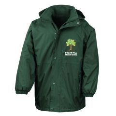 *STAFF ONLY* Bottle Stormproof Coat - Embroidered with Sugar Hill Primary School Logo + Outstanding Logo on Sleeve