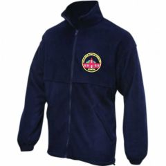Navy Fleece - Embroidered with Wallsend Jubilee Primary School logo