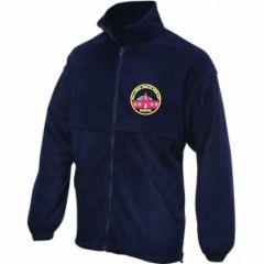 Navy Fleece - Embroidered with Wallsend Jubilee Primary School logo