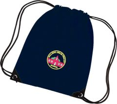 Navy PE Bag - Embroidered with Wallsend Jubilee Primary School logo