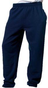 Navy Sweat Jogging Pants Plain - for Waterville Primary School logo