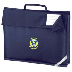 Navy Bookbag - Embroidered with Waterville Primary School logo