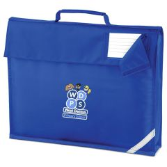 Royal Bookbag - Embroidered with West Denton Primary School logo